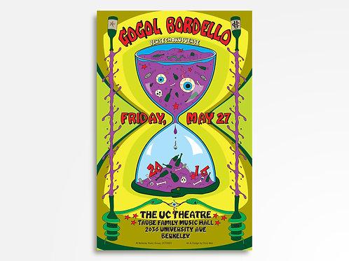 Gogol Bordello Limited Edition Commemorative Poster