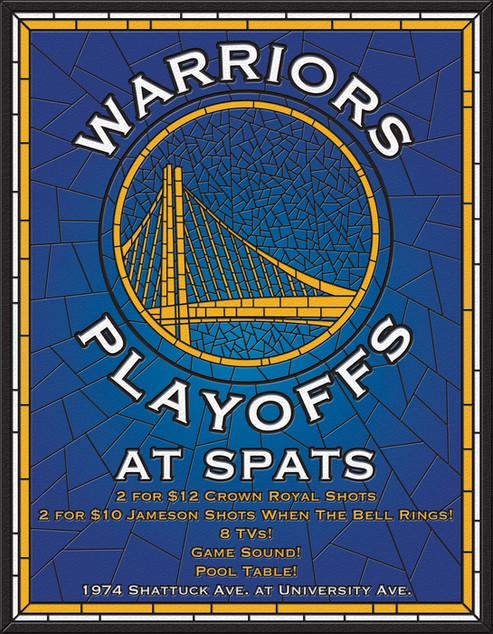 Warriors Playoffs at Spats