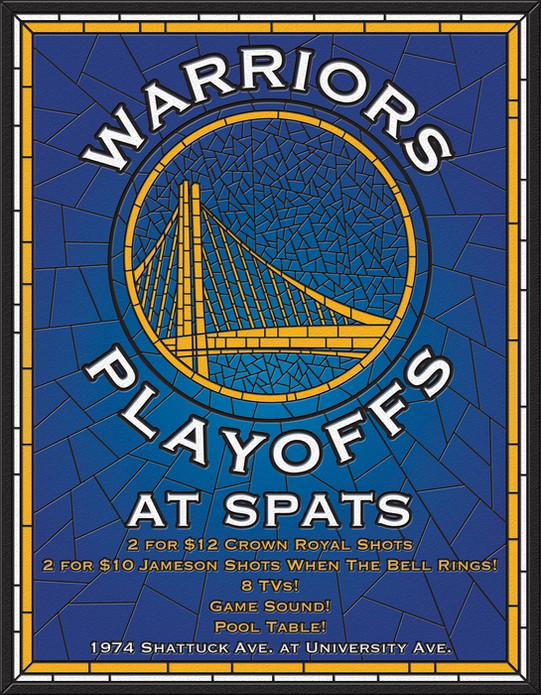 Warriors Playoffs 2018