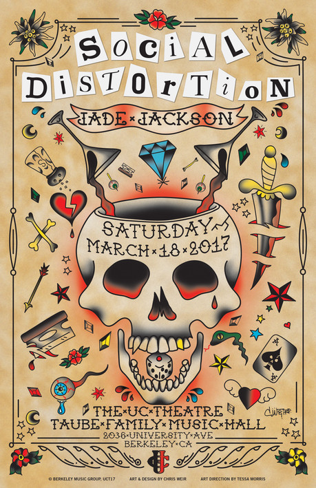 Social Distortion Commemorative Poster