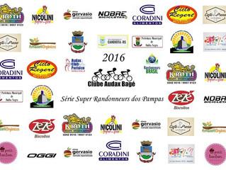 Pontos de Controle e Apoio BRM 400 km | Série 2016