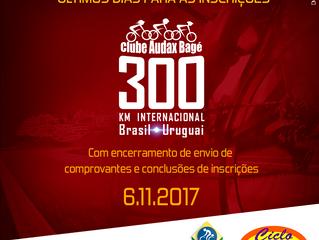 Último dia de inscrições BRM 300 km Internacional | Série 2018