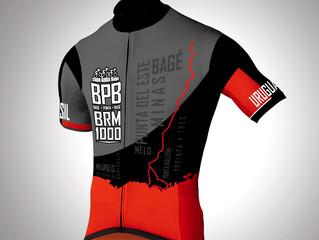 Camisas de Ciclismo BRM 1000 km Internacional Clube Audax Bagé   Série 2018