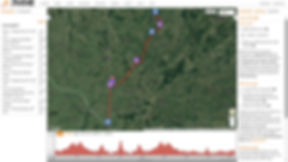 Roteiro/Mapa BRM 600 km Série 2016 Clube Audax Bagé