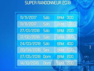 Calendário 2018 Clube Audax Bagé