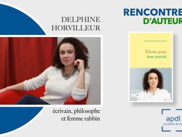 Rencontre d'Auteur : Delphine Horvilleur, écrivain, philosophe... et femme Rabbin !