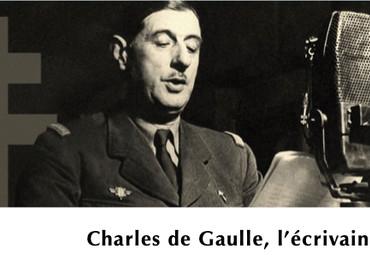 Charles de Gaulle, l'écrivain - par Pascal François