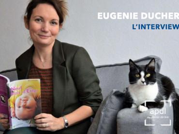 Eugénie Ducher, un jeune plume prometteuse - interviewée par Françoise Fesneau