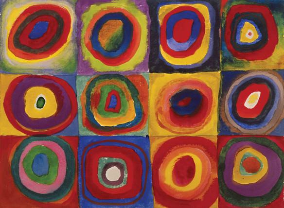 Kandinsky - Farbstudie