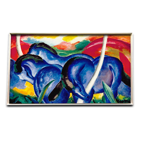 Die großen blauen Pferde