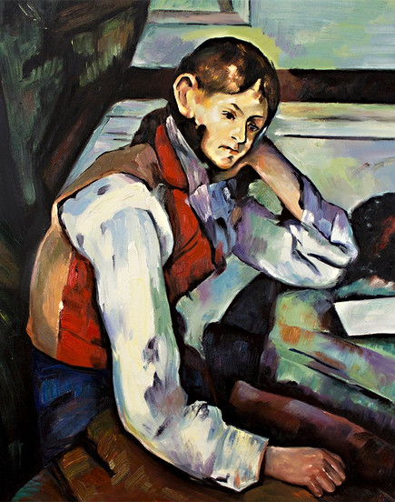 Cézanne - Die Kartenspieler