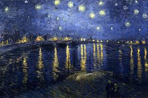 Van Gogh - Die Sternennacht über der Rhöne