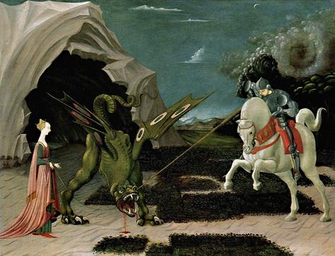 Ucello - Der heilige Georg