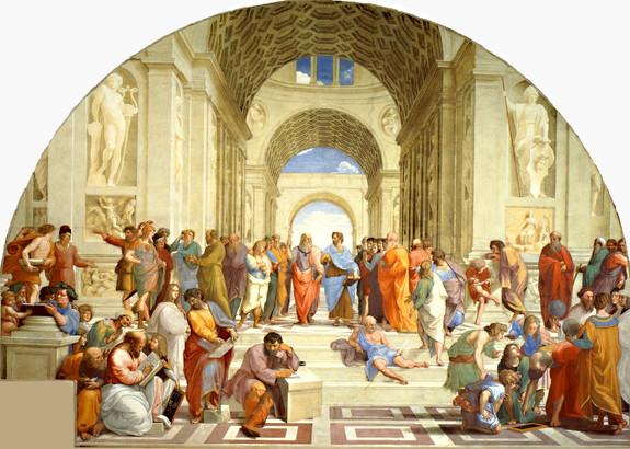 Raphael - Die Schule von Athen