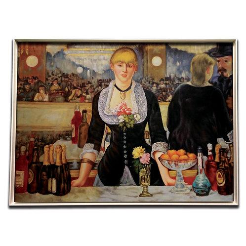 Bar in den Folies-Bergère