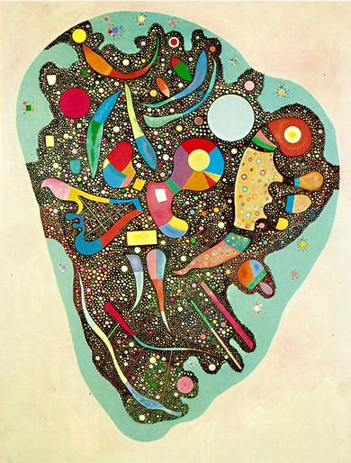 Kandinsky - Buntes Ensemble