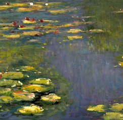 Monet - Seerosenteich 1919