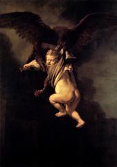 Rembrandt - Ganymed