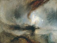 Turner - Schneesturm auf dem Meer