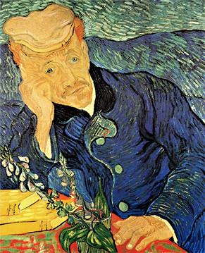 Van Gogh - Porträt des Dr. Gachet