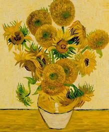 Van Gogh - 15 Sonnenblumen