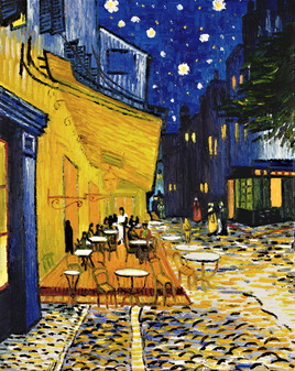 Van Gogh - Caféterrasse am Abend