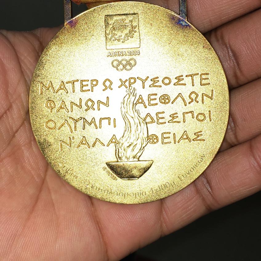 Gold MedalBack