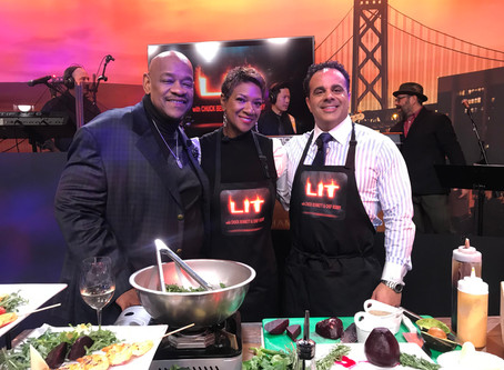 """CEO Jeannine Gant serves as Guest Chef on Tonight's """"LIT With Chuck Bennet & Chef Bobby"""