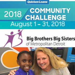 Big Brothers Big Sisters place 8th overall in the 2018