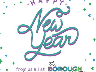 Happy New Year from 'the Borough first'!