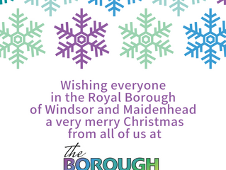 Merry Christmas from 'the Borough first'!