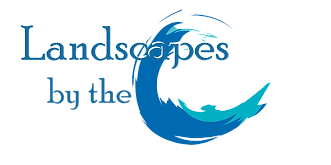 Landscapes by the C Logo