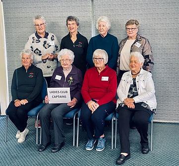 Photo 3 Past & Present Ladies Captaions.