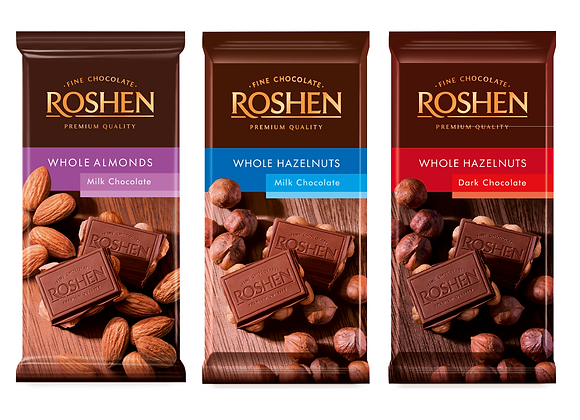 ROSHEN Chocolate with Whole Nuts