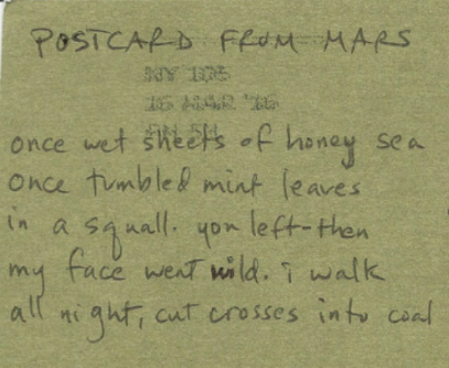 Postcard from Mars
