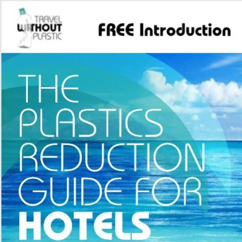 FREE Introduction to reducing single-use plastic in hotels