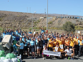 Tour Operators and local volunteers celebrate World Environment Day with huge 2-site Litter Pick