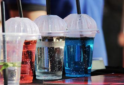 Plastic glasses and straws.jpg