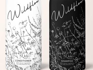 Shampoo Luxury Consmetics Packaging Design