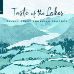 Taste of the Lakes Illustrated Branding & Web Banner