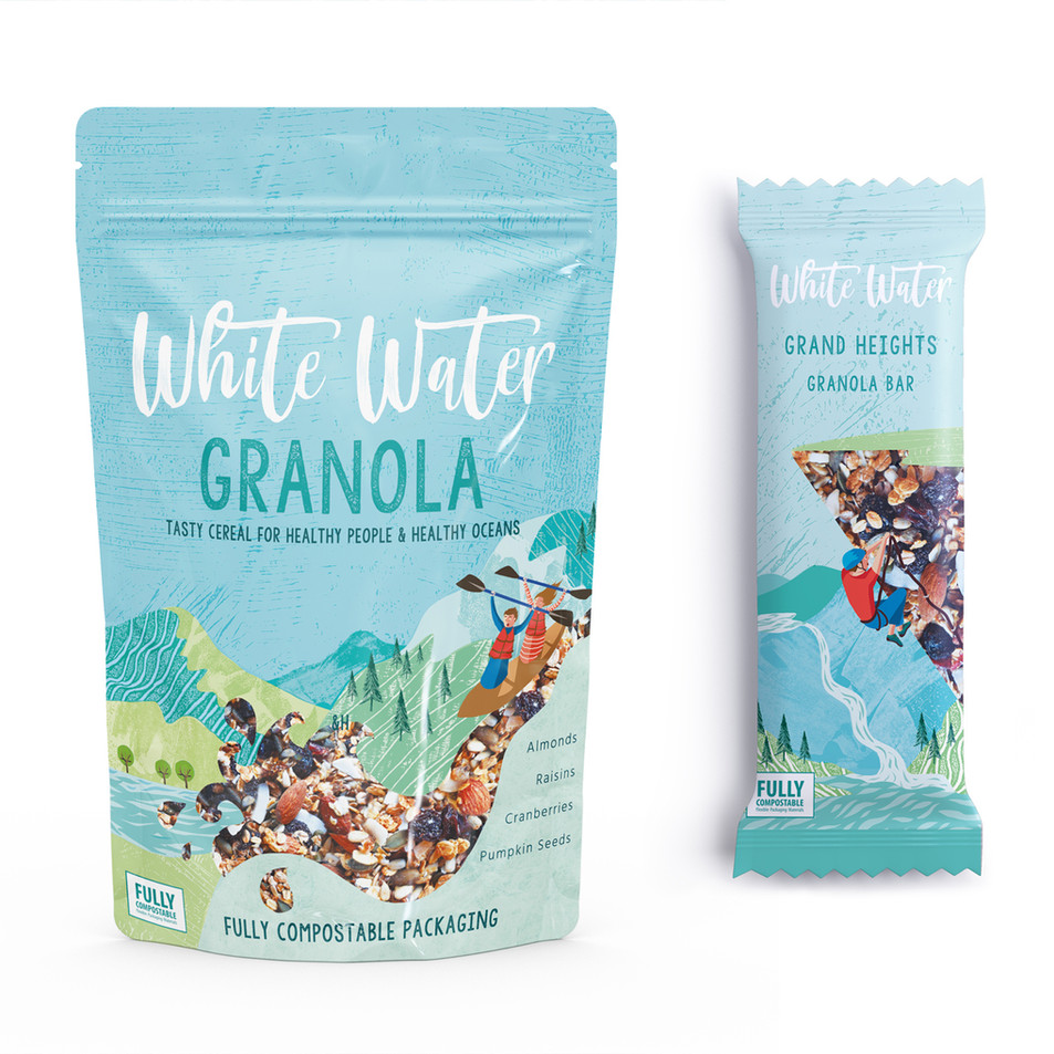 Granola Eco Packaging Design