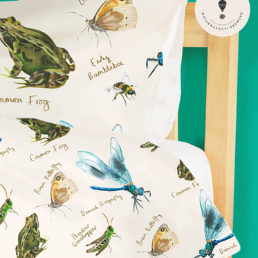 Little Zoologist Wildlife Repeat Pattern Design