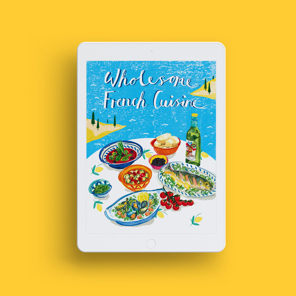 E-Cook Book Cover Design