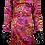 Thumbnail: Yves Saint Laurent Print Rive Gauche Dress