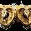 Thumbnail: Mosaique Heart Earrings