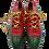Thumbnail: Hermès Multicolor Ghillie Shoes