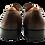 Thumbnail: Hermès Brown Leather Men Shoes