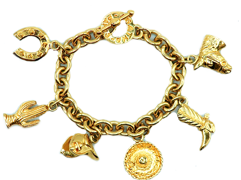 Agatha Gold Bracelet