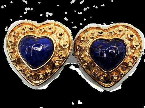 Mosaique Heart Earrings