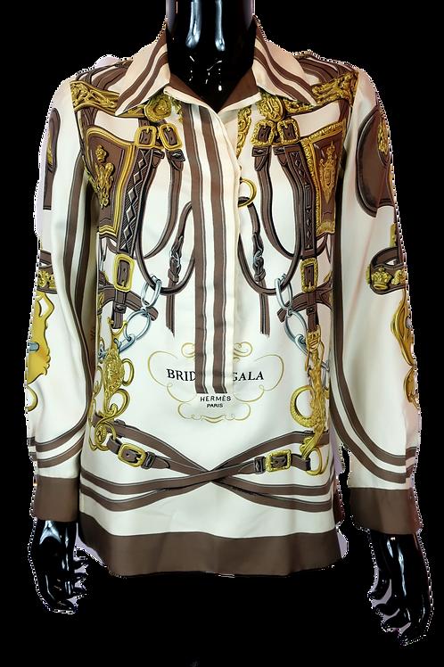 Hermès 'Brides de Gala' Silk Shirt